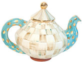 Mackenzie Childs MacKenzie-Childs Parchment Check Tea Pot & Lid