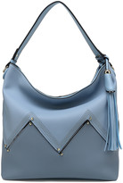 Mkf Collection By Mia K. MKF Collection by Mia K. Women's Hobos - Slate Blue Belmey Hobo