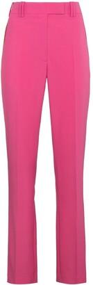 Calvin Klein mid rise striped slim leg pants