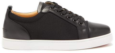 3c611e18969 Louis Junior Leather And Mesh Trainers - Mens - Black