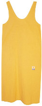 L.F. Markey Saffron Linen Shift Dress - UK 8