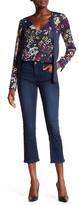 Rachel Roy Ultramarine Crop Flare Jean