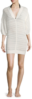 Herve Leger Marian Cotton Cover-Up