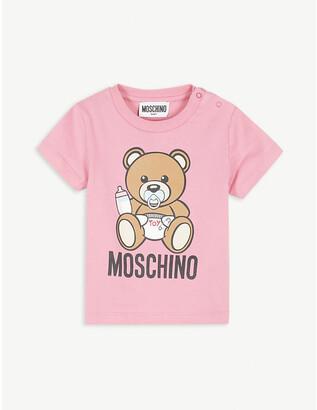 Moschino Baby bear cotton-blend T-shirt 3-36 months