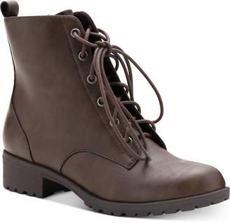 American Rag Women Franie Combat Booties, Women Shoes