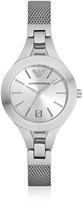 Emporio Armani Stainless Steel Women's Watch w/Mesh Strap