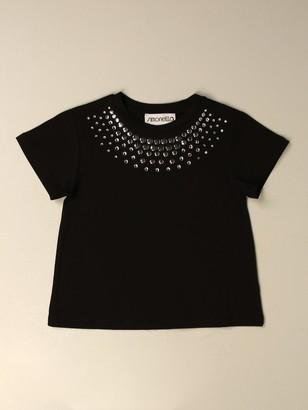 Simonetta T-shirt With Rhinestones
