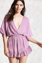 Forever 21 Contemporary Satin Romper