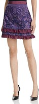 Three floor Violet Hour Lace Ruffle Skirt