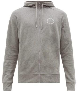 Calvin Klein Zip Through Cotton Track Top - Mens - Grey