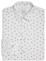 Paul Smith Soho Cassette Print Slim Fit Dress Shirt