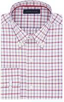 Tommy Hilfiger Men's Non Iron Regular Fit Tattersall Bd Collar Dress Shirt