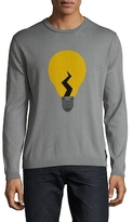 Fendi Bulk Cashmere Crewneck Sweater