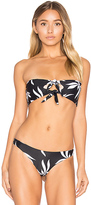 Mikoh Loihi Bandeau Top in Black. - size XS (also in )