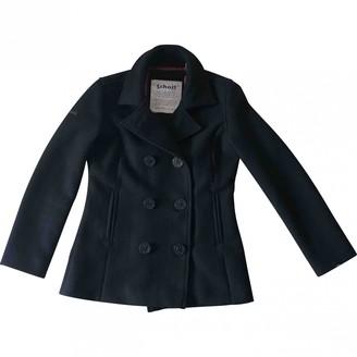 Schott Black Wool Jacket for Women