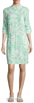 Melissa Odabash Lois Printed Button Front Cover-Up Tunic