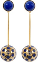 Tory Burch Star Logo Linear Earring