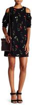 Do & Be Do + Be Floral Print Cold Shoulder Dress
