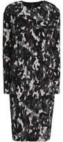 Norma Kamali Printed Stretch-Jersey Mini Dress