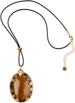 House Of Harlow 1960 Tigers Eye Pendant
