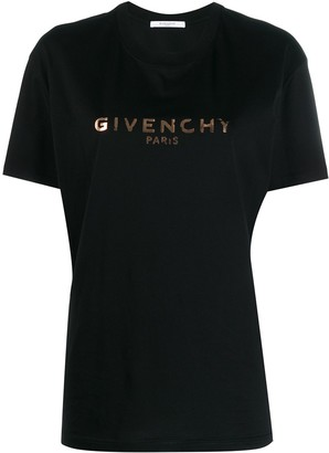 Givenchy logo printed T-shirt