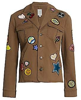 Cinq à Sept Women's Embroidered Valley Jacket