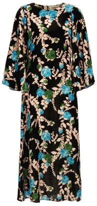 La DoubleJ Sorella Floral Maxi Dress