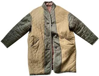 Etoile Isabel Marant Green Cotton Coats