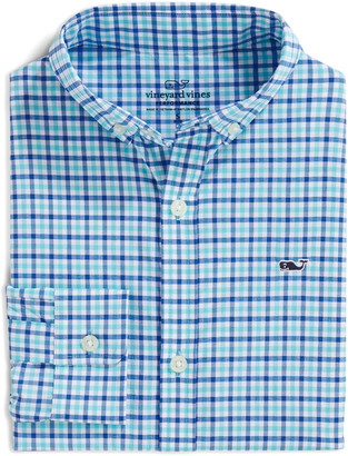 Vineyard Vines Saunders Check Performance Button-Down Shirt