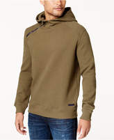 Sean John Men's Textured Side-Zip Hoodie