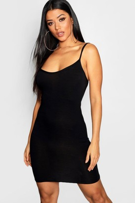 boohoo Basic Strappy Cami Bodycon Dress