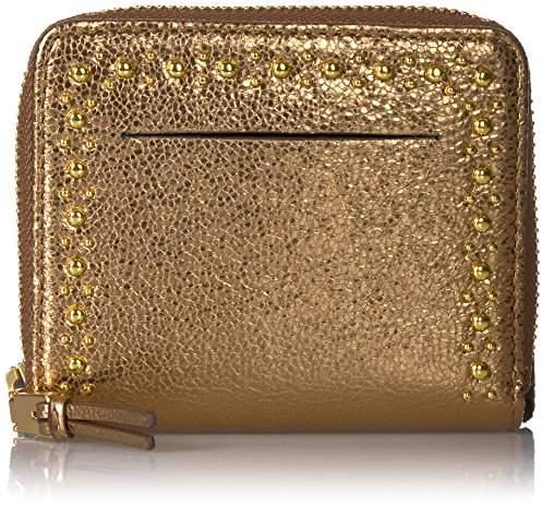 Cole Haan Marli Glitter Stud Small Zip Wallet