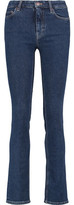 MiH Jeans Mid-Rise Slim-Leg Jeans