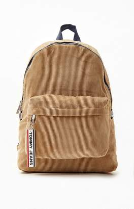 Tommy Jeans Logo Tape Corduroy Backpack