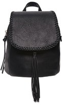 Forever 21 FOREVER 21+ Tasseled Flap-Top Backpack