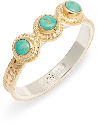 Anna Beck Turquoise Stacking Ring