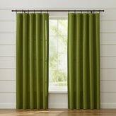 Crate & Barrel Taylor Green Curtains