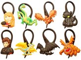 Hermes 8 pcs How to Train Your Dragon # 2 Bag Tag Identify your Luggage / Sac Marker Identifiez Votre Bagages
