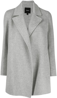 Theory Grey Wool Coat