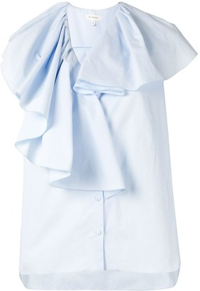 DELPOZO Pleat Detail Shirt