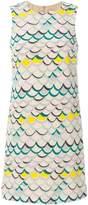 M Missoni scallop print dress