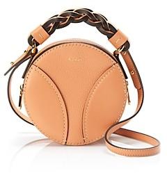 Chloé Daria Mini Round Leather Crossbody