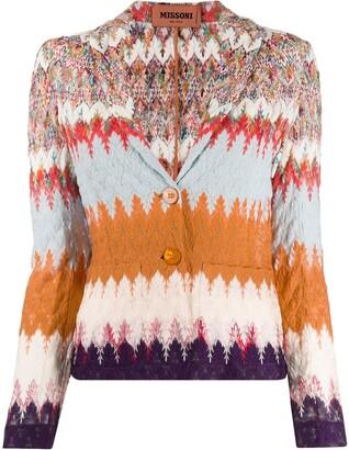 Missoni Abstract Knit Cardigan