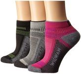 Wigwam Ultra Cool Lite Low 3-Pack Women's Crew Cut Socks Shoes