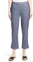 Theory Women's Thorina Tierra Wash Crop Flare Pants