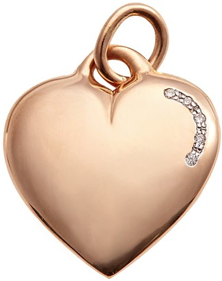 True Love Pendant Engravable In Rose Gold