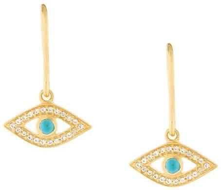 Astley Clarke 'Evil Eye Drop Biography' earrings