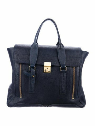 3.1 Phillip Lim Messenger Bag Blue