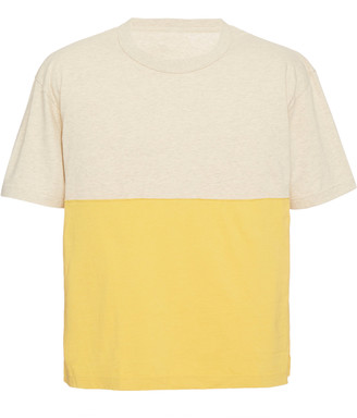 Visvim Oversized Two-Tone Cotton T-Shirt