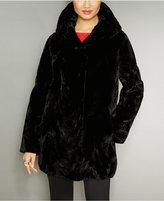 The Fur Vault Reversible Mink Fur Hooded Jacket